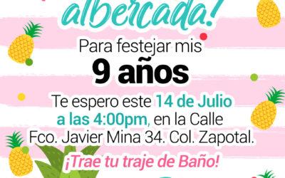 Invitación para Albercada
